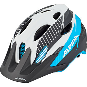 Alpina Carapax Casque Adolescents, white-black blue